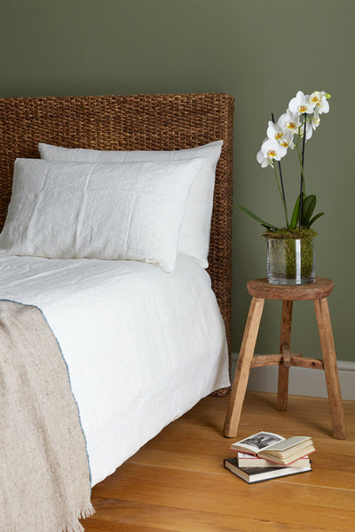 Linen Bed Set - Soft White - Oggetto