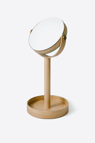 Natural Oak Close Up Mirror - Oggetto