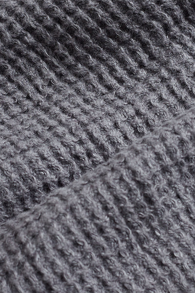Linen Waffle Towel - Charcoal - Oggetto