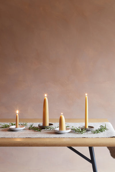 Candle Holder - White - Oggetto