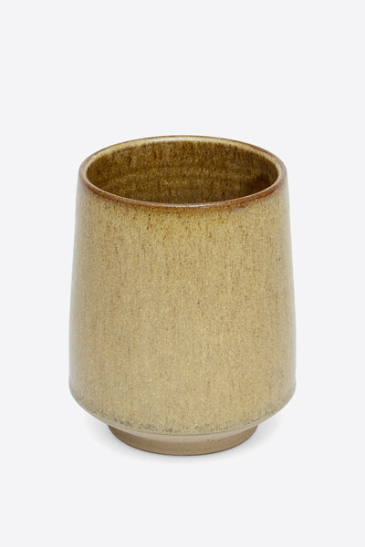 Lidded Jar - Raw Sienna - Oggetto