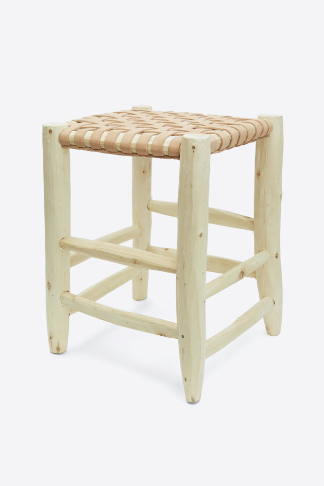 Moroccan Stool - Natural - Oggetto