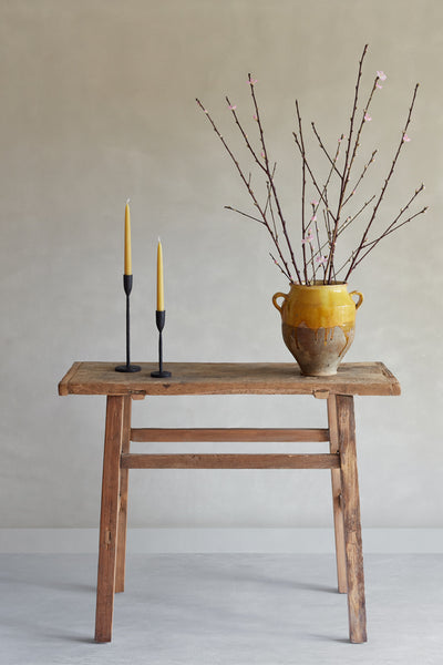 Luce Candleholder - Antique Black - Oggetto