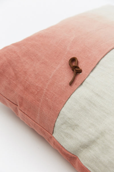 Linen Colour Gradient Cushion - Terra - Oggetto
