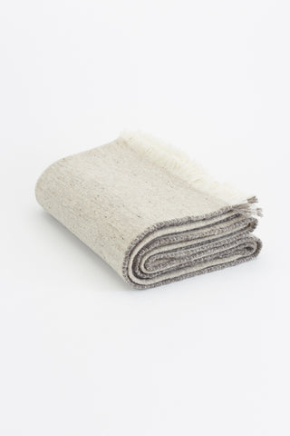Merino Wool Throw - Grey - Oggetto