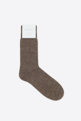 Alpaca Socks - Mid Brown - Oggetto