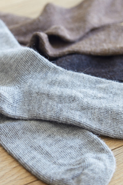 traditional alpaca socks