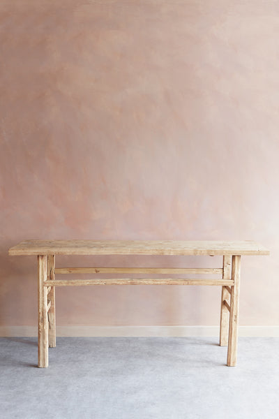 Vintage Elm Console Table No.3 - Oggetto