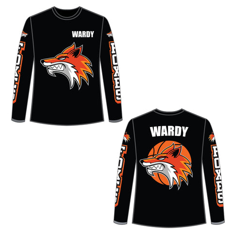 Warm-up Shirt - Foxes Basketball Club