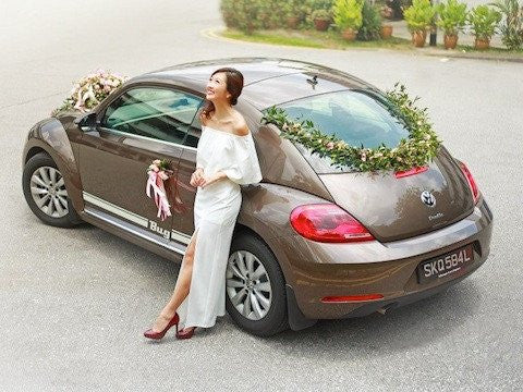 Bridal Car Décor