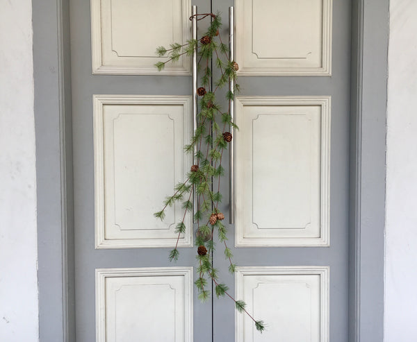 [Faux Flower] Rocky Mountain Pine With Mini Cone 40""
