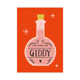 [Love Card] Giddy