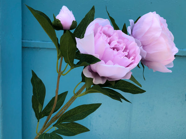 Faux Peonies - Large, Lilac