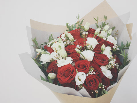 (24-Stalk) Two Dozen Roses, Please