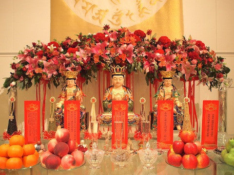 Ting & Thomas' Traditionally Yours Buddhist Solemnisation