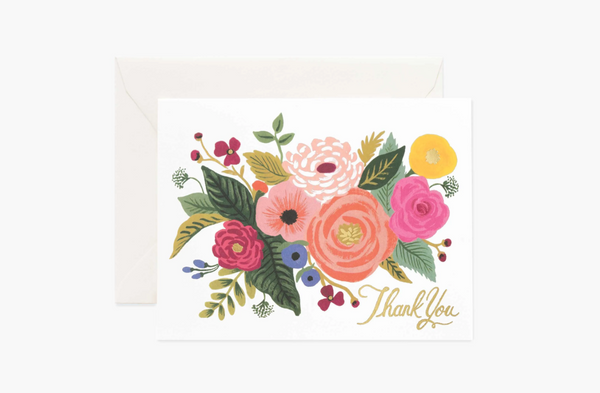 [Thank You Card] Juliet Rose