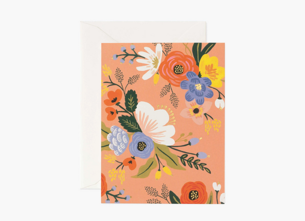 [Everyday Card] Lively Floral Pink