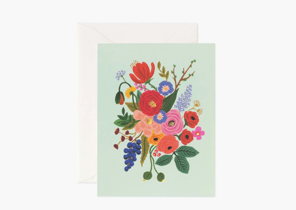 [V-Day Card] Garden Party Pink