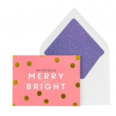 [Xmas Card] May Your Days Be Merry & Bright