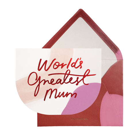 [For Mum Card] World's Greatest Mum