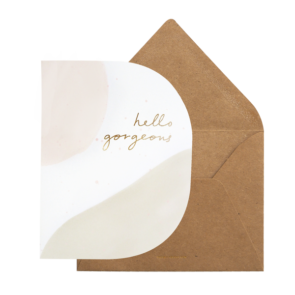 [V-Day Card] Hello Gorgeous