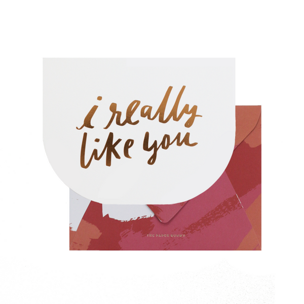 [V-Day Card] I Really Like You