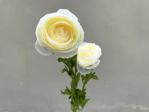 Faux Ranunculus - Large, Other Colours Avail.