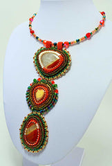 handmade beaded nacklace