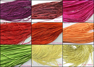 Set of 9 Colors Smooth wire 1 mm