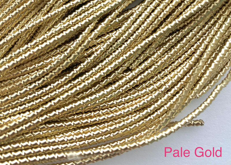 bamboo french wire pale gold