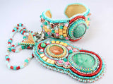 jewelry set beaded