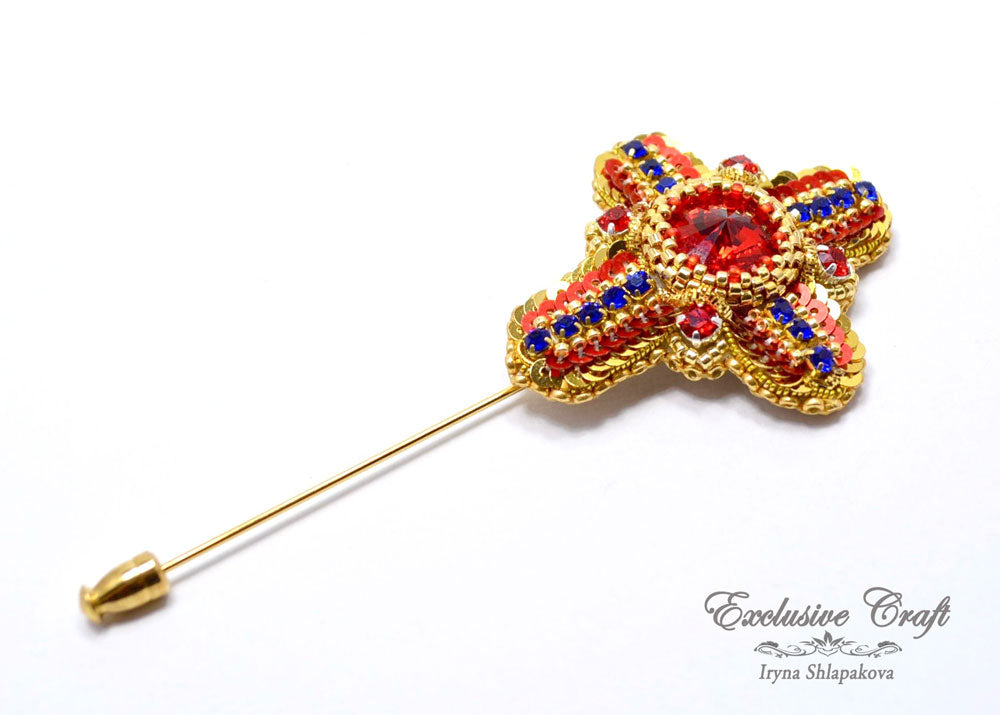"Brooch ""Cross"""