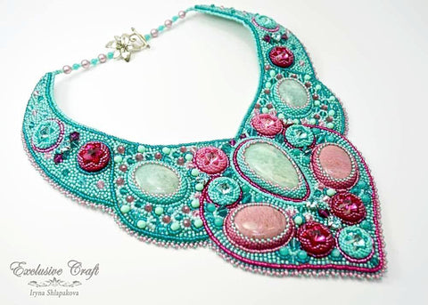 "Necklace ""Blue Lagoon"""