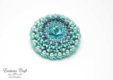"Brooch/pendant ""Sea Dream"""