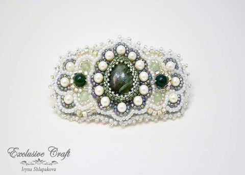 "Hair barrette ""Magic Dreams"""