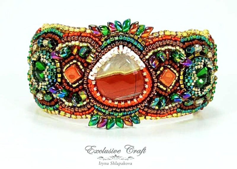 colorful cuff bracelet