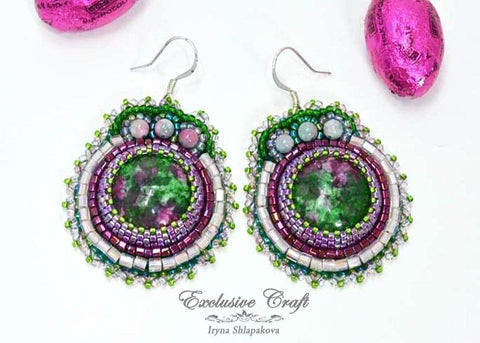 "Earrings ""Candy Crush"""