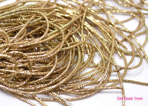 old gold bullion french wire 1mm