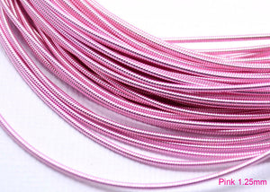 gimp french wire 1.25mm pink