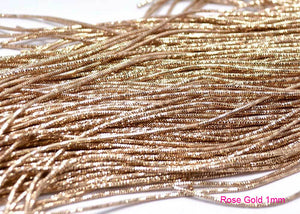 rose gold bullion french wire 1mm