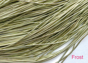 smooth purl french wire 1mm frost