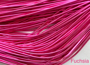 smooth purl french wire 1mm fuchsia