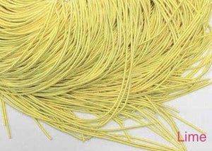 smooth purl french wire 1mm lime