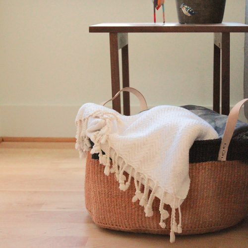 African Basket - Floor Sisal Basket
