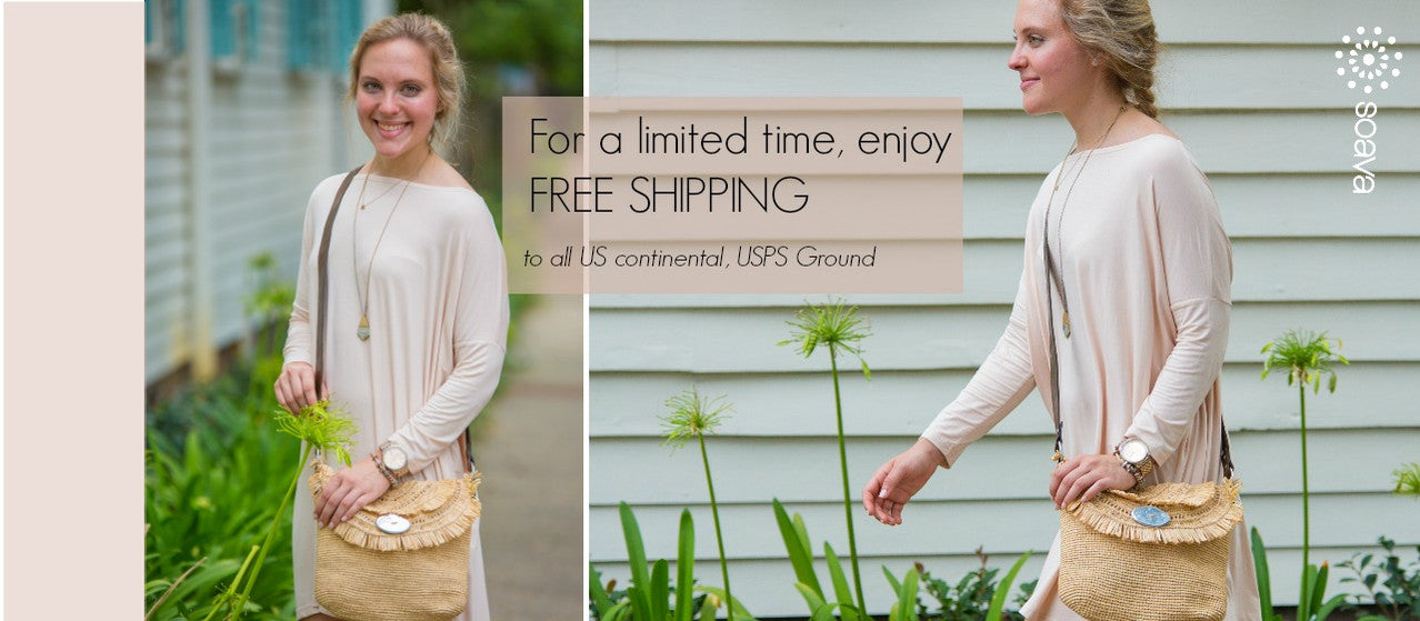 Enjoy Free Shipping on our raffia straw  handbags