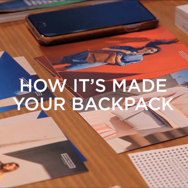 how it's made your backpack - leather bags brand vídeo