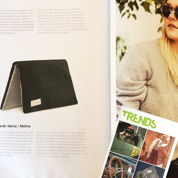 Maria Maleta at TRENDS Nº 64