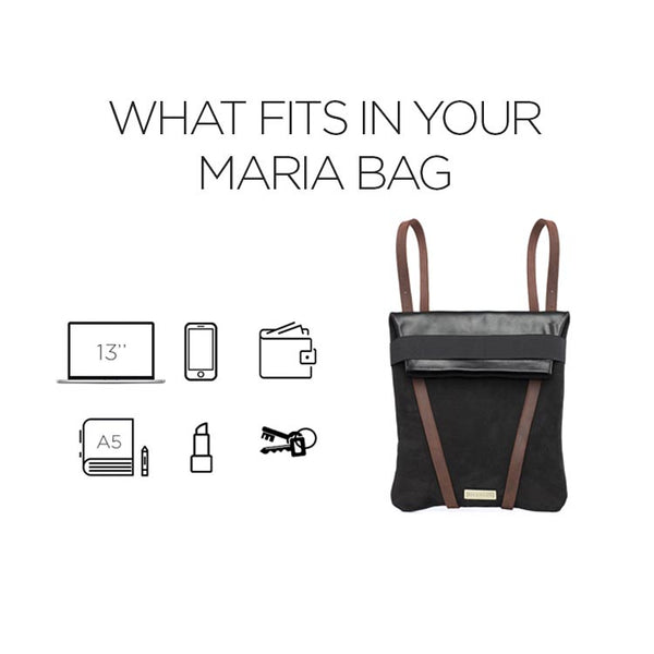 WHAT FITS IN YOUR MARIA BAG
