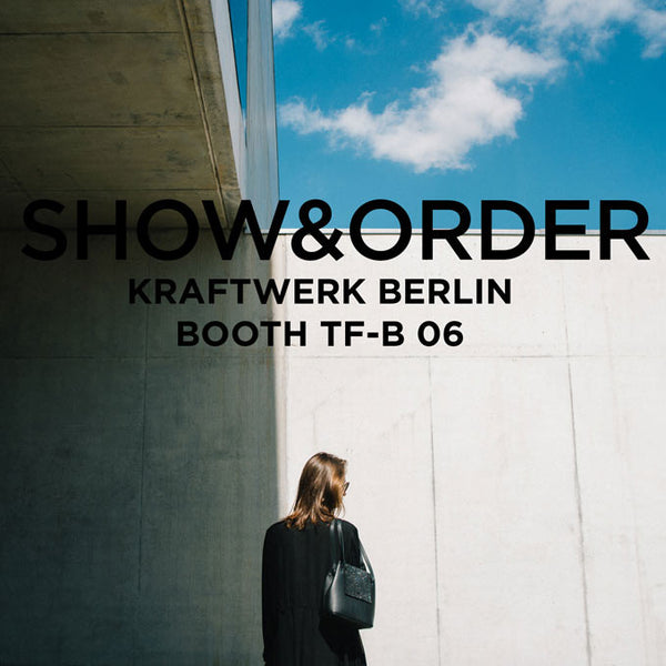 Maria Maleta at SHOW&ORDER Berlin