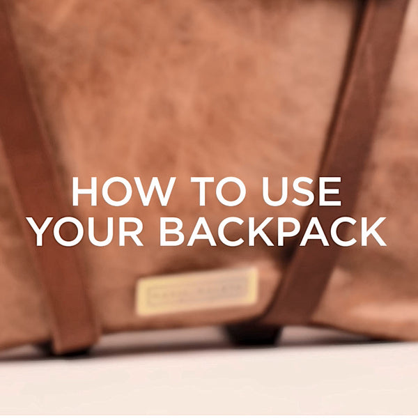 how to use your backpack vídeo